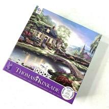 Ceaco Thomas Kinkade Stoney Creek Cottage 1000 Piece Jigsaw Puzzle - $23.03