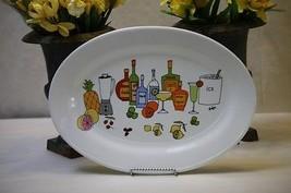 Signature Housewares Platter Tray Margarita by Ursula Dodge for Bottles ... - $20.00