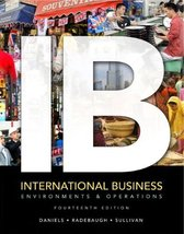 International Business: Environments & Operations (14th Edition) [Jan 06... - $25.00