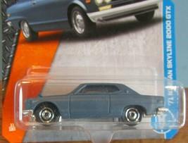 Nip Matchbox 2017 Metal Series '71 Nissan Skyline 2000 Gtx Car Carded - $7.70