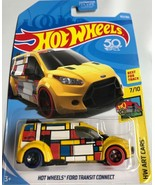 Hot Wheels - Ford Transit Connect - Scale 1:64 - Yellow - $7.87