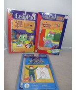 NEW Lot of 3 Leap Frog Pad Cartridge with Book Science Surprising Teache... - $19.99
