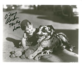 Gordon Porky Lee signed photo. Cute! - $17.95