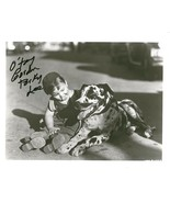 Gordon Porky Lee signed photo. Cute! - $17.95