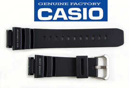 Genuine CASIO G-SHOCK  Gulfman WATCH BAND STRAP G-9100 Black Rubber 21mm  - $49.11 CAD