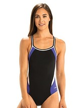 Dolfin Color Block Swimsuit DBX Back Purple, 34 - $50.12