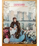 Donovan  Songbook: From Sunshine Superman To Mellow Yellow,1968 Sheet Music - $21.73
