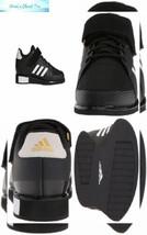 adidas Men's Power Perfect III. Cross Trainer 13.5, Black/White/Matte Gold - $125.58