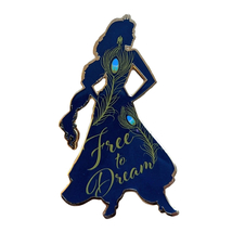 Aladdin Disney Lapel Pin: Jasmine Free to Dream - $25.00