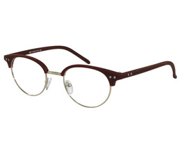 EBE Horn Rim Classic In Brown And Silver - $22.91+