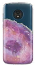 Incipio Motorola M4DE Moto E5 Play/Cruise Hive Gel Case Mineral Purple Clear NEW