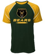 NCAA Baylor Bears Men's Contrast Stitch Tee, XX-Large, Forest/Gold - $14.95