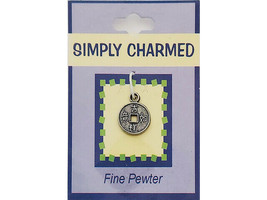 """Quest Simply Charmed """"Asian Characters"""" Fine Pewter Charm"""