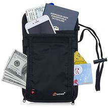 Dorras RFID Blocking Passport Holder - Neck Stash Pouch & Security Trave... - $13.74