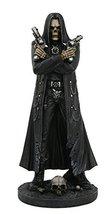 Grim Reaper Assassin With Guns Revolvers Skeleton Death Fantasy Horror Collectib - $39.59