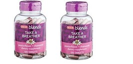 H?E?B Blends Take A Breather Passionflower + Chamomile Tablets 120 ct(Pack of 2) - $29.99