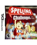 Spelling Challenges NINTENDO DS Video Game - $5.97
