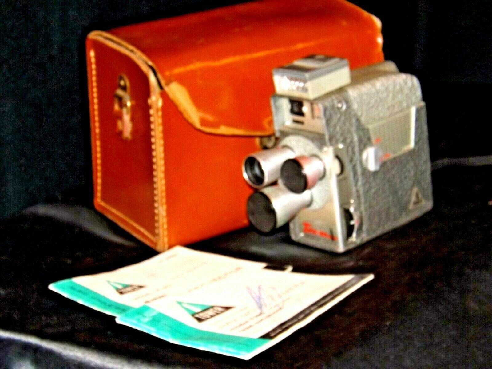 8MM Movie Camera USA AA19-1520 Vintage