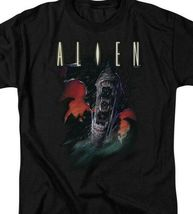 Alien movie t-shirt retro sci-fi horror film 100% cotton graphic tee TCF285 image 3