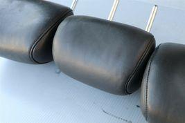 09-14 Nissan Murano Rear Back Black Leather Headrests Headrest Set of 3 image 7