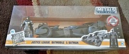 Jada Toys Metals Die Cast 2017 Justice League Batmobile with Batman 1/24 - $31.99