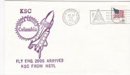 SPACE SHUTTLE COLUMBIA FLT ENG 2006 ARRIVES FROM NSTL KSC FLORIDA 7/22/1980 - $1.78
