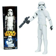 """Star Wars 12"""" Collectible Action Figure Stormtrooper With Weapon Hasbro NIB - $13.25"""