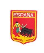 Espana Matador Bull Travel Souvenir Patch Spain  - $7.91