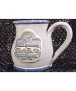 Deneen 10 OZ Morton Street Bed Breakfast Shipshewana Indiana Pottery Blu... - $19.38