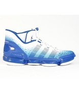 Adidas TS Heat Check Basketball Shoes Royal Blue & White Mens NWT - $83.24