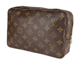 LOUIS VUITTON TROUSSE TOILETTE 23 Monogram Canvas Cosmetic Pouch Bag LP4082 - $279.00