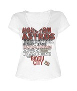 MLB  Woman's Houston Astros WORD White Tee with  City Words XL - $15.99