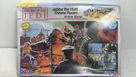 Star Wars Jabba the Hutt Throne Room 1983 MPC Model Kit ROTJ New in Box - $18.37