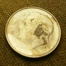 Rare 2016 - P Lincoln dime, spot on Lincoln ear - $0.99
