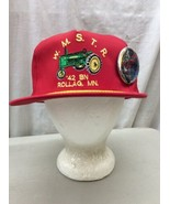 trucker hat baseball cap Vintage Snapback Mesh Retro Rollag MN pin '42 W... - $39.99