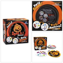 Spot It Card Game Halloween For Kids Teen Party Adult Play Zombies Cobwe... - $21.05