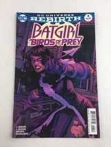 Batgirl And The Birds Of Prey #4 Jan 2017 - DC Universe Rebirth - $7.91