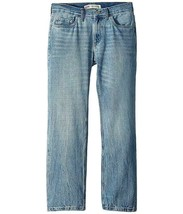NEW KIDS LEVIS BLUE JEANS 505 REGULAR STRAIGHT LEG 91R505 L34 SIZE 14 27... - $22.00