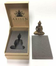 Thai Meditation Buddha Statue Small 4 Inch | Premium in Gift Box. Rustic - $29.99
