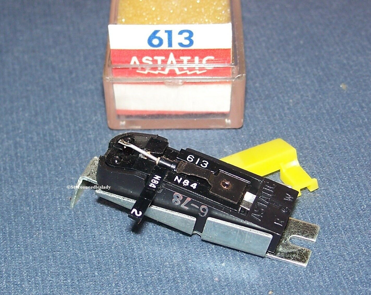 PHONOGRAPH RECORD NEEDLE CARTRIDGE Astatic 613 for EV 613D RCA 116931 RCA 204-5