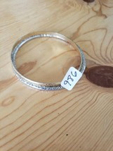 986 Silver & Gold Bangles (New) - $8.14