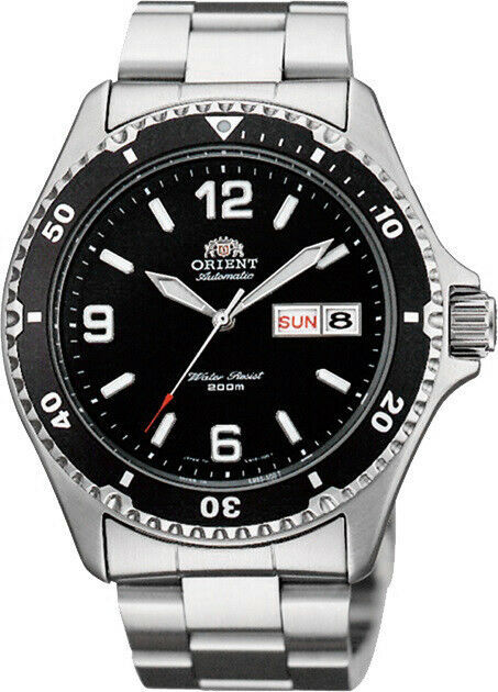 Primary image for Orient FAA02001B9 AA02001B Black Dial 200M Diver Style