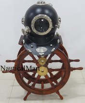NauticalMart 18'' Scuba Style US Navy Mark V Diving Divers Helmet - $300.00