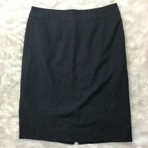 Calvin Klein Women's Gray A-Line Straight Professional Pencil Skirt Size 8 - $15.83