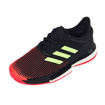 Adidas Sole Court Boost Women's Tennis Shoes Sports Athletic Black G26297 - £124.44 GBP