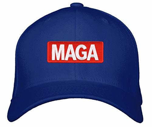 MAGA Hat - Pro Trump Adjustable Cap (Blue)