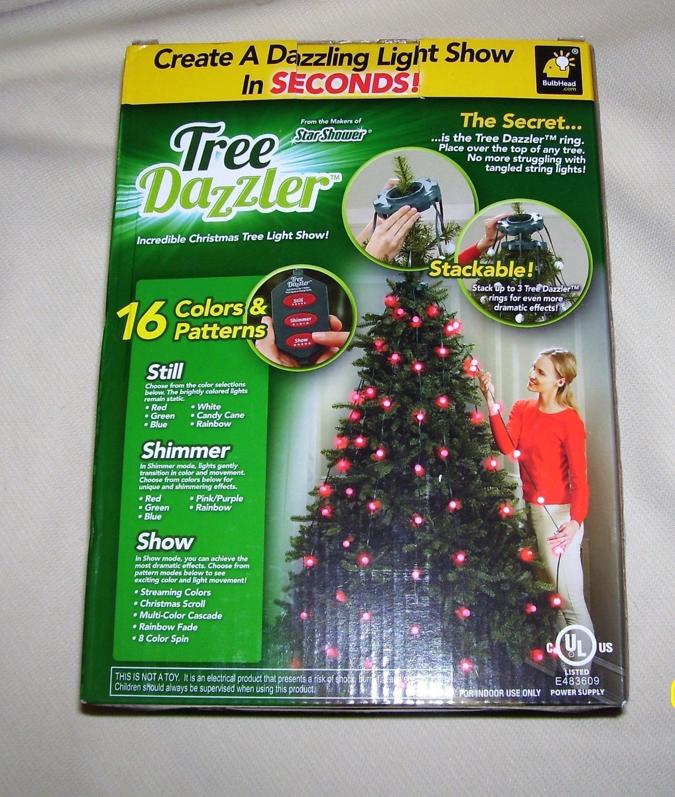As Seen On Tv, The Tree Dazzler. Brand New and 50 similar items