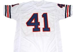 Brian Piccolo #41 Brian's Song Movie Men Football Jersey White Any Size image 2