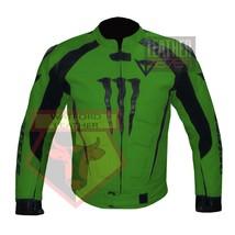 DAINESE 1010 GREEN WATERPROOF COWHIDE LEATHER MOTORBIKE MOTORCYCLE ARMOR... - $289.99