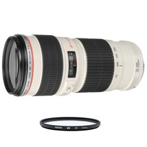 CANON EF 70-200mm F4L USM + HOYA UX UV 67mm Filter - $684.34